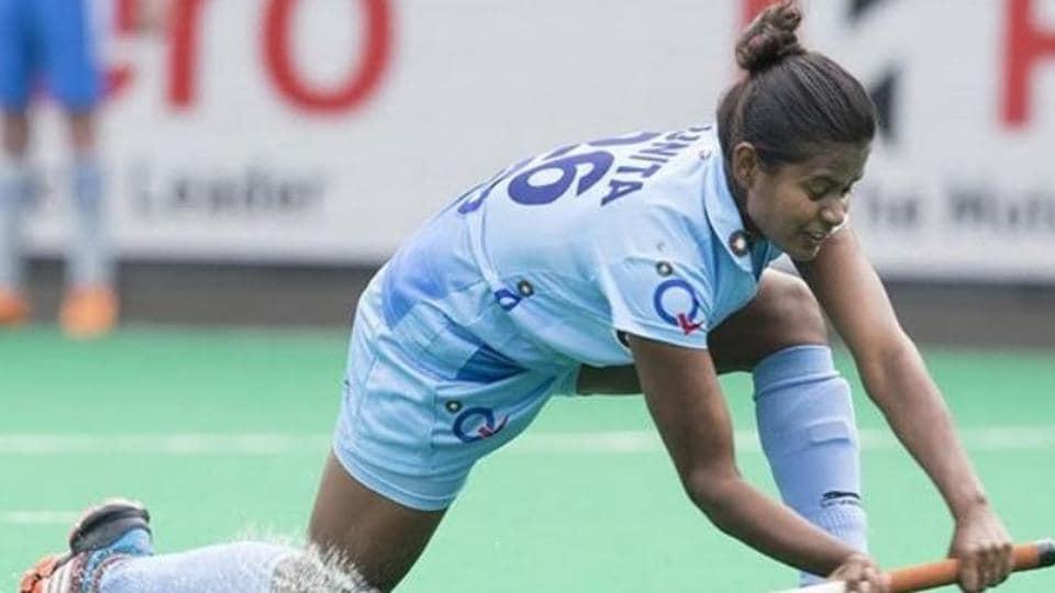 File image of India hockey player Sunita Lakra.