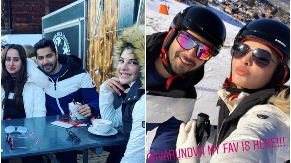 Jacqueline Fernandez enjoys 'first lunch of 2020' with Varun Dhawan and Natasha Dalal, challenges him...