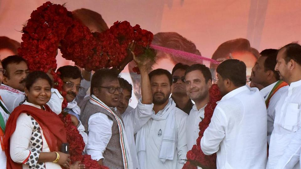 Congress leader Rahul Gandhi, RJD'S Tejashwi Yadav, RSLP's Upendra Kushwaha and HAM chief and former Bihar CM JR Manjhi will look towards forming an alliance to thwart the Nitish Kumar-led BJP-JD(U) coalition government in the 2020 Bihar Assembly Election.