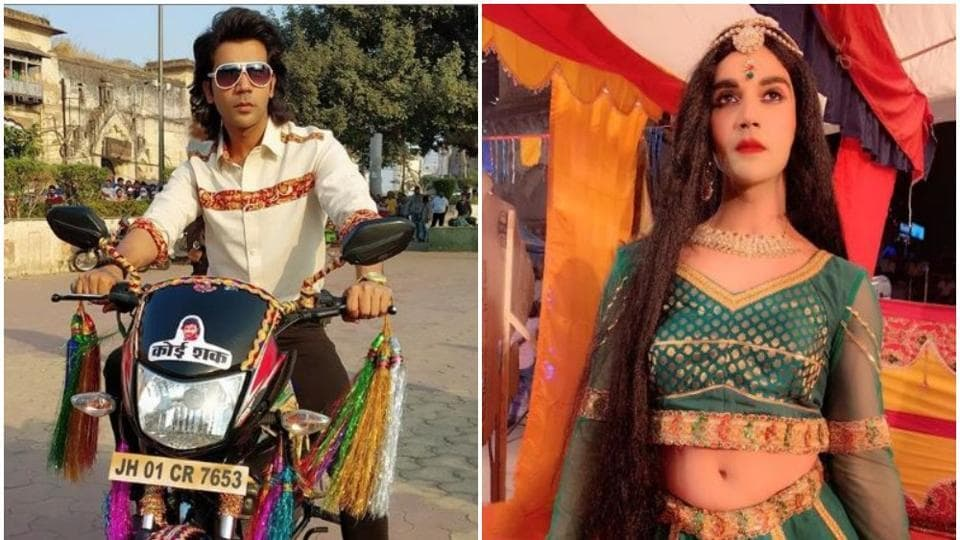 RajkummarRao in his two looks from the film, Ludo.