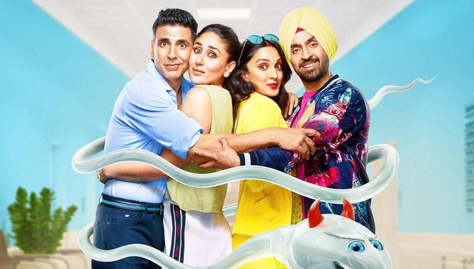 Good Newwz box office: The film stars Akshay Kumar, Kareena Kapoor, Kiara Advani and Diljit Dosanjh in lead roles.