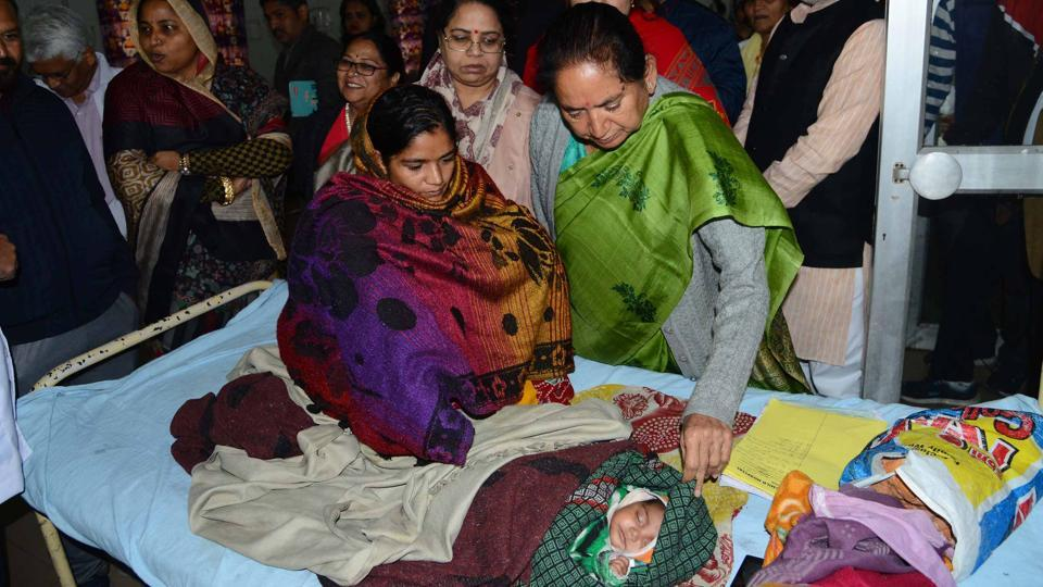 At least nine more infants have died in the last two days of December at the JK Lon hospital here, taking the death toll to 100 for the month, officials said on Wednesday.