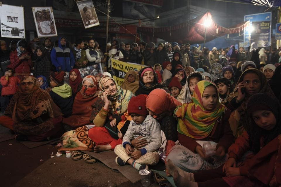 'Next time, please call us to the studio instead of the maulvis that you always do,' say the women of Shaheen Bagh
