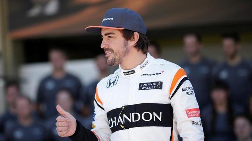File image of Fernando Alonso.