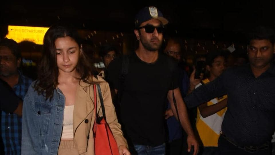 Alia Bhatt and Ranbir Kapoor have returned from their New Year vacation.