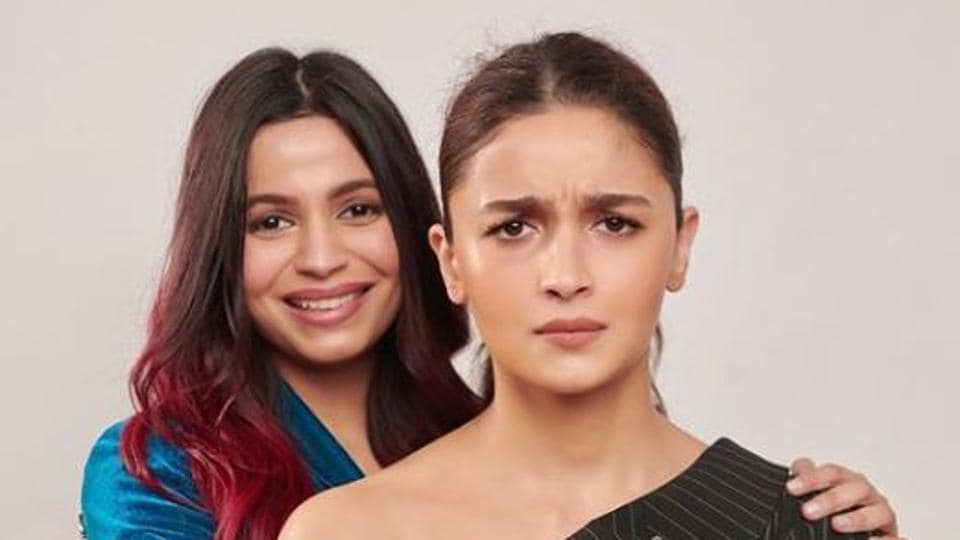Alia Bhatt's angry face in sister Shaheen's latest post wins the internet, dub it 'permafrown' - bollywood - Hindustan Times