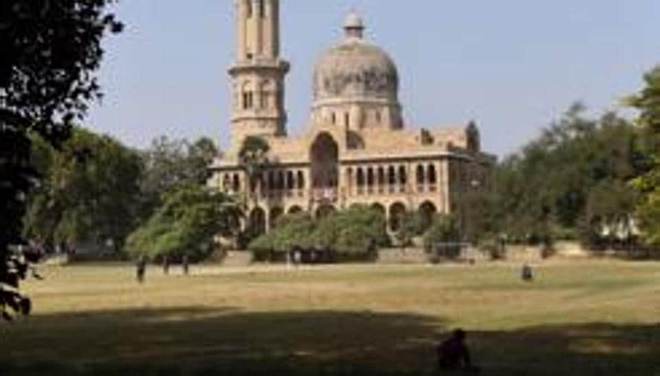 A view of Allahabad University