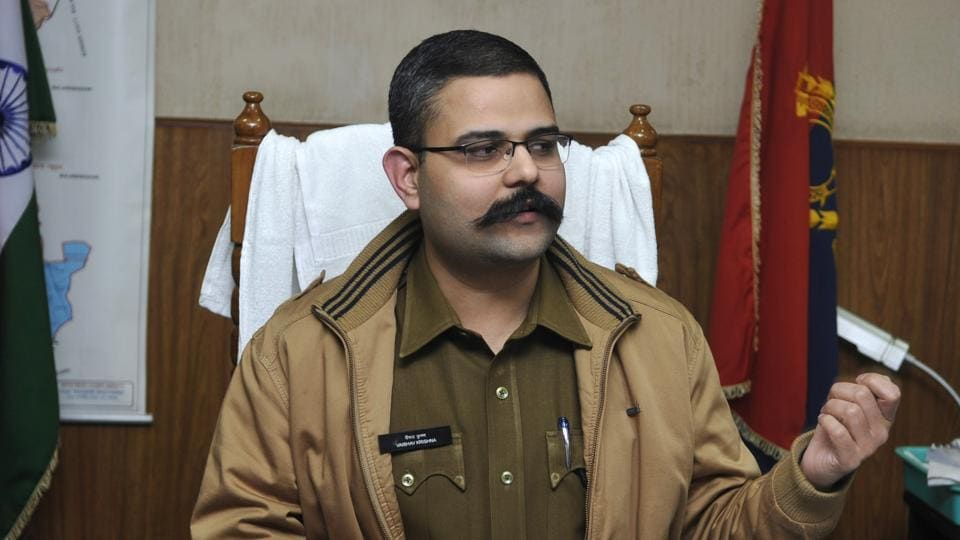 On Friday, UP top cop Singh said that SSP Krishna and other officers are being blackmailed by five journalists who were earlier arrested by the police.