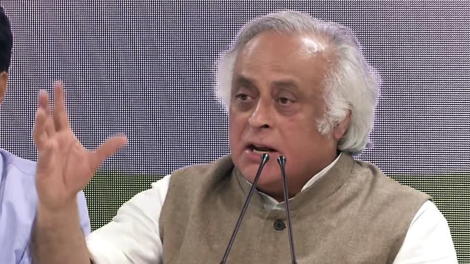 Jairam Ramesh is the chairman of the parliamentary panel on science, technology, environment, forests & climate change.