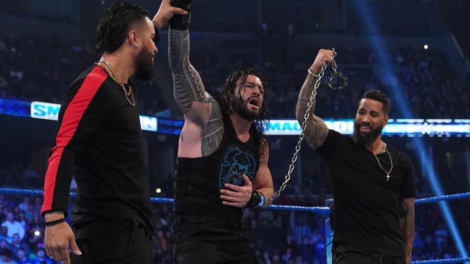 The Usos returned to WWE.