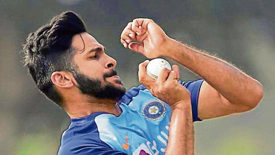 Shardul Thakur first gained notice during the 2017 IPL