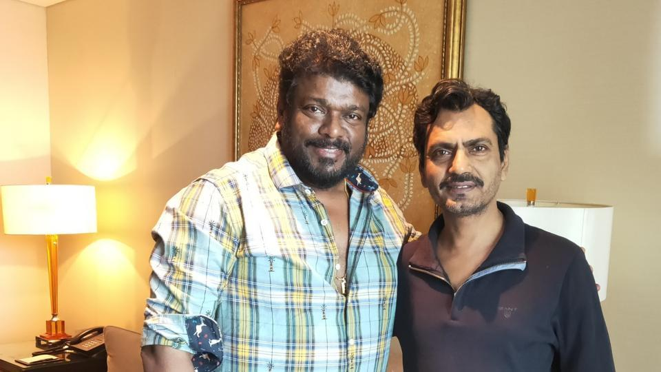 Parthiban met Nawazuddin Siddiqui for their next project.