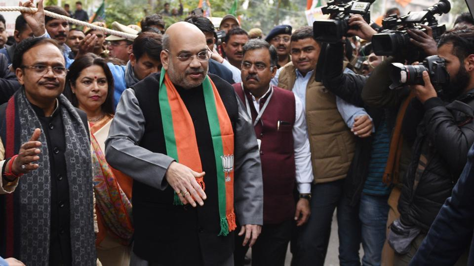Amit Shah has ordered an enquiry to be carried out in connection with the violence at JNU's campus on Sunday.