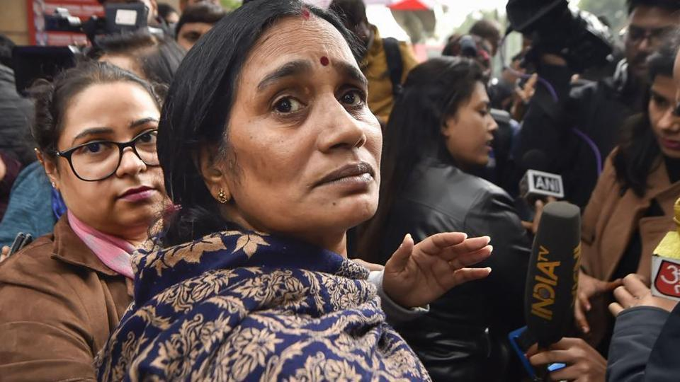 The petition seeking death warrant for Delhi gang-rape convicts was filed by her mother Asha Devi.