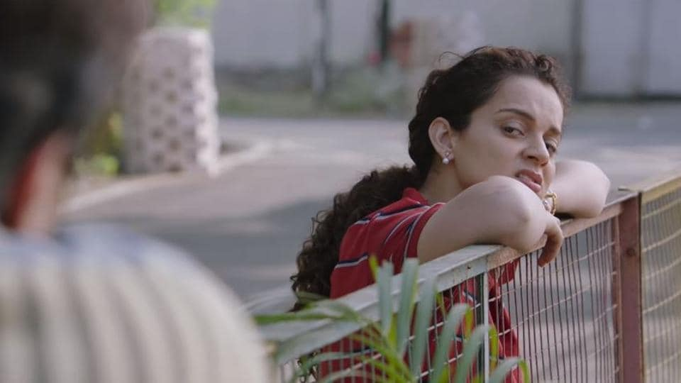 Kangana Ranaut in a still from Panga title song.