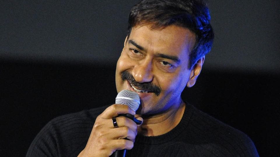 Bollywood actor Ajay Devgn during the promotion of his movie Tanhaji: The Unsung Warrior.