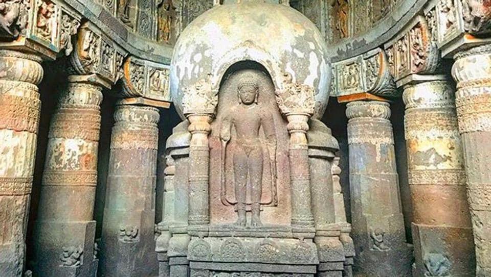 Restored Ajanta caves paintings to be on display.