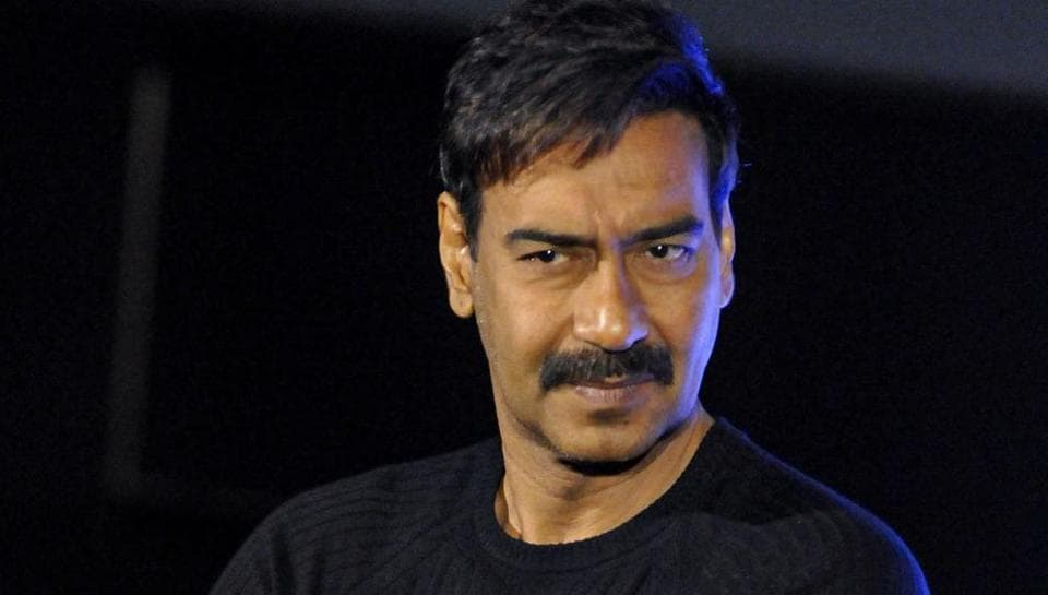 Ajay Devgn during the promotion of his movie Tanhaji: The Unsung Warrior, in Kolkata.