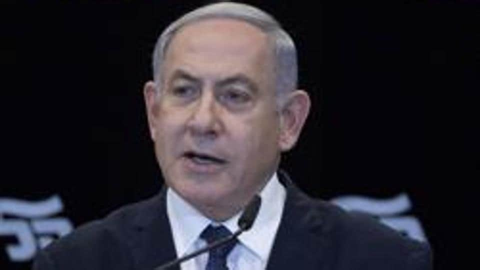 """Prime Minister Benjamin Netanyahu warned Wednesday that Israel would strike a """"resounding blow"""" if attacked by arch foe Iran"""