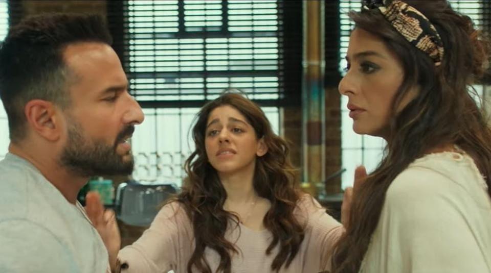 Jawaani Jaaneman trailer features Saif Ali Khan with Alaya F and Tabu.