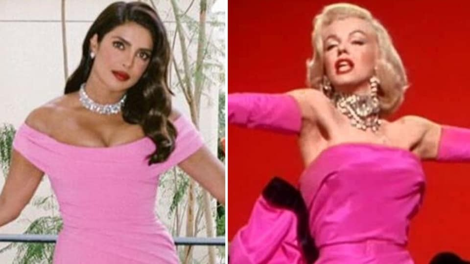 Priyanka Chopra's Golden Globes 2020 reminded us of Marilyn Monroe. Top celebs who copied the sex symbol