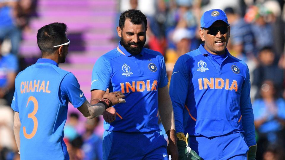 File photo of Mohammed Shami and MS Dhoni