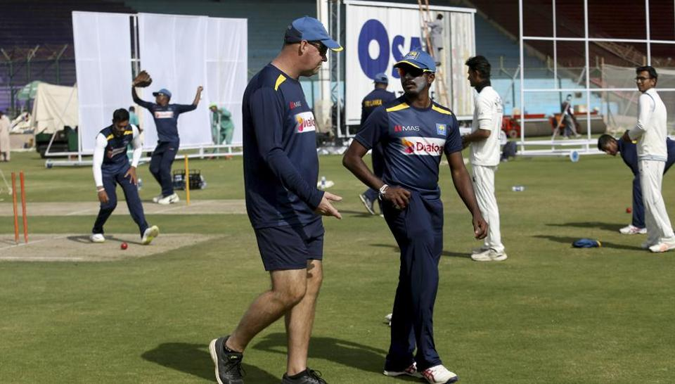 File image of Sri Lanka coach Mickey Arthur