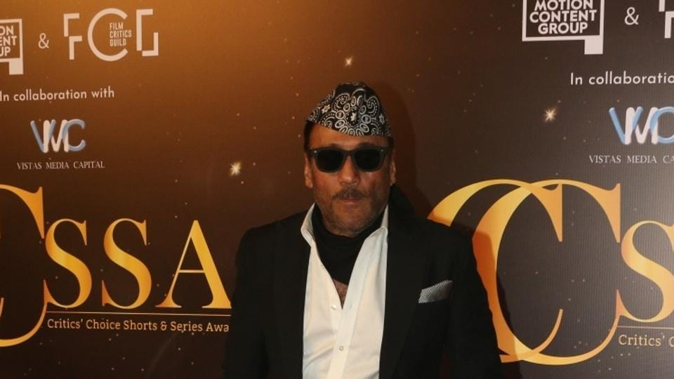 Jackie Shroff at the red carpet of Critics' Choice Awards in Mumbai on December 11.
