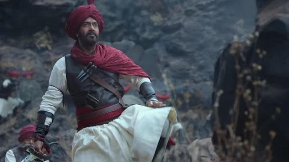 Tanhaji The Unsung Warrior movie review: Ajay Devgn hits a century in style.
