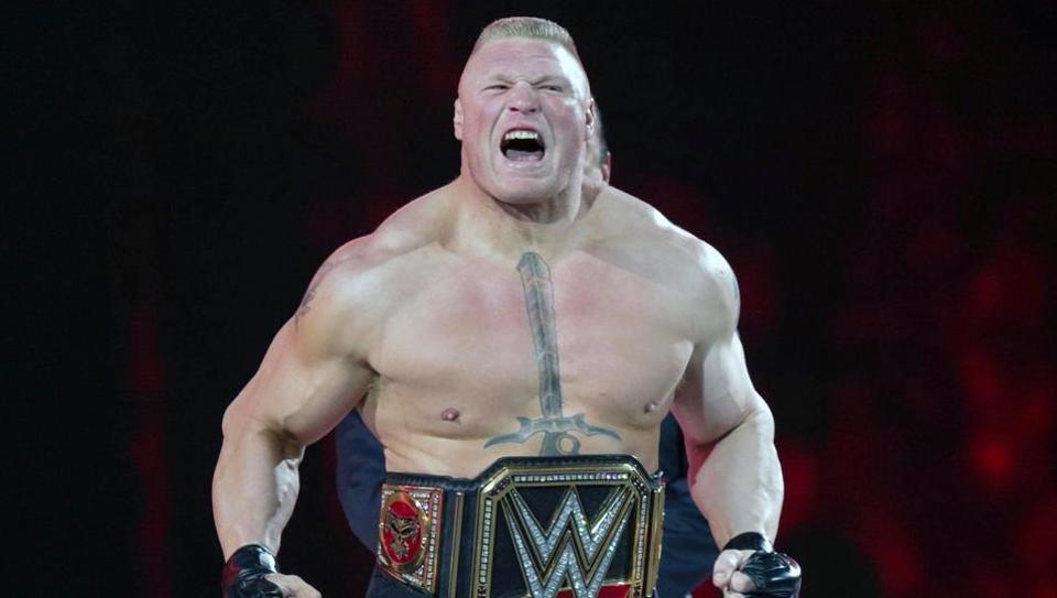 Brock Lesnar has new target in mind at WWE Royal Rumble.