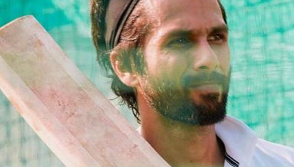 Shahid Kapoor will play a cricketer in Jersey.