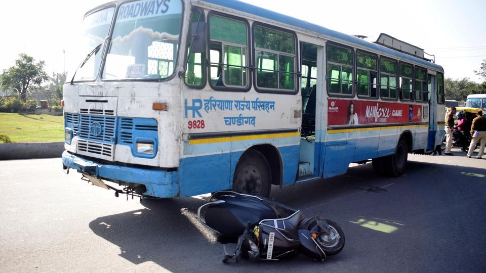 The majority of the accidents on the stretch took place on the patch from Tribune Chowk towards the Zirakpur-Ambala highway.