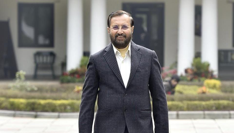 Union minister and Bharatiya Janata Party's (BJP) Delhi elections in-charge, Prakash Javadekar said the party's main poll plank is the work done by the central government.