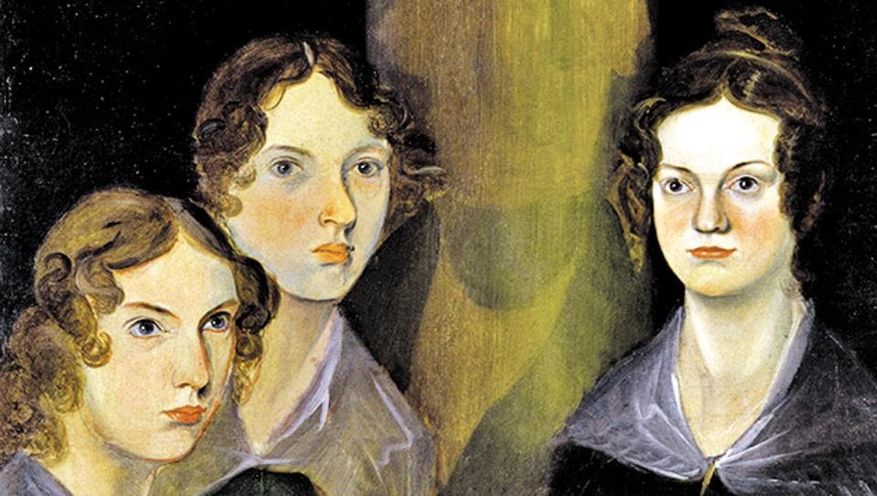 A painting of the Brontë sisters – (left to right) Anne, Emily and Charlotte – in the National Portrait Gallery, London.