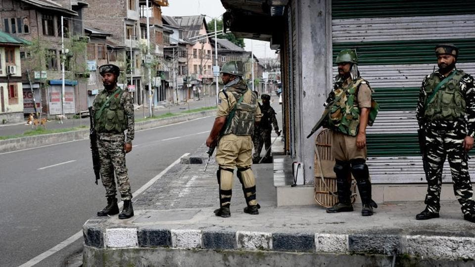 This summer,  at least 700 companies of the paramilitary forces will continue to be positioned in J&K.
