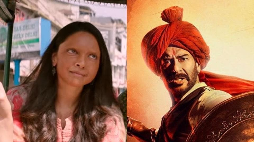 Both Chhapaak and Tanhaji The Unsung Warrior released on Friday.
