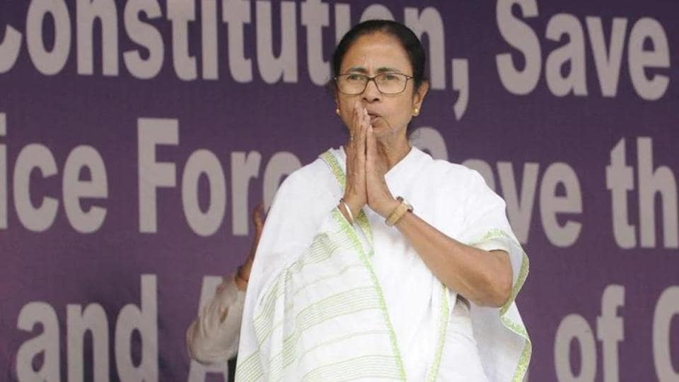 West Bengal Chief Minister Mamata Banerjee. (HT file)