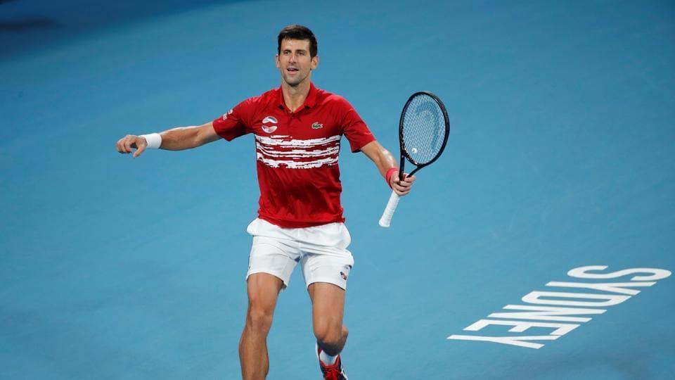 Djokovic sweeps past Nadal in ATP Cup final