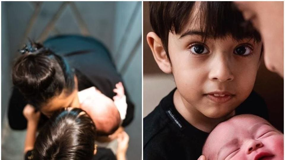 Salman Khan's sister Arpita shares a cute pic with kids Ahil and Ayat, says 'love is all we need' - bollywood - Hindustan Times