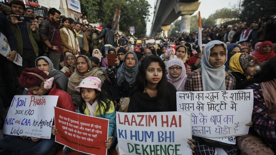 The protesters of the Trinamool Congress Chhatra Parishad (TMCP) were seen carrying posters and placards against the CAA and the National Register of Citizens (NRC). (Representational image)