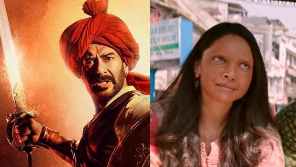 Tanhaji and Chhapaak need to maintain their rhythm at the box office this week.