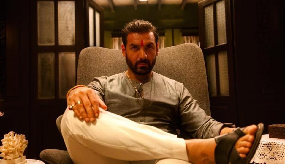 John Abraham as a gangster in Mumbai Saga.