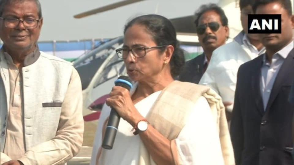 Bengal Chief Minister Mamata Banerjee said that  Dilip Ghosh's comment  on anti-CAAprotesters being shot was shameful.