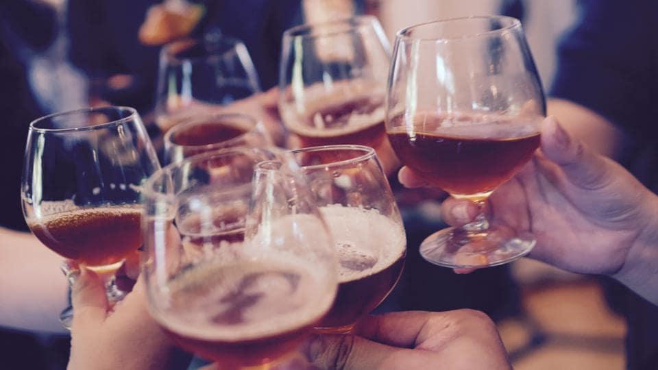 The study states that by 12th grade, 42 per cent of young people have had an alcoholic drink in the past month