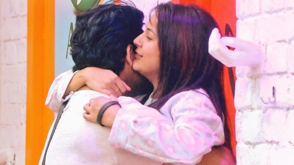Shehnaz Gill is seen hugging and hitting Sidharth Shukla often on the show.
