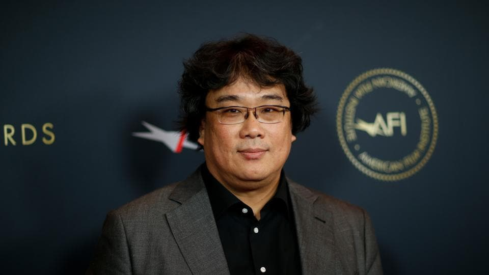 Bong Joon-ho attends the AFI 2019 Awards luncheon in Los Angeles, California.