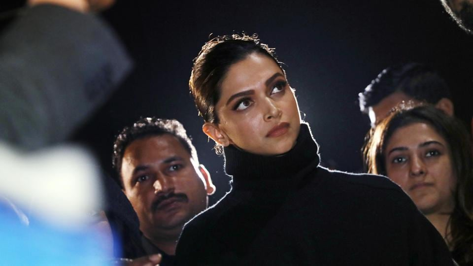 Deepika Padukone stands in solidarity with protesting students.