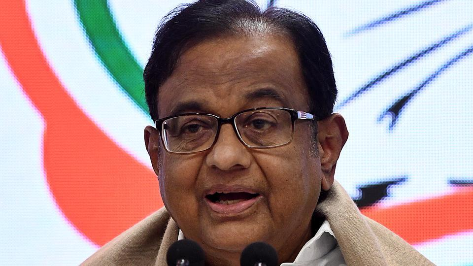 As the former Union finance minister, in several tweets, warned the Centre about the effects the sliding economy, he also took a jibe over rising inflation.