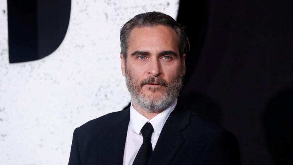 Joaquin Phoenix attends the premiere for the film Joker in Los Angeles.