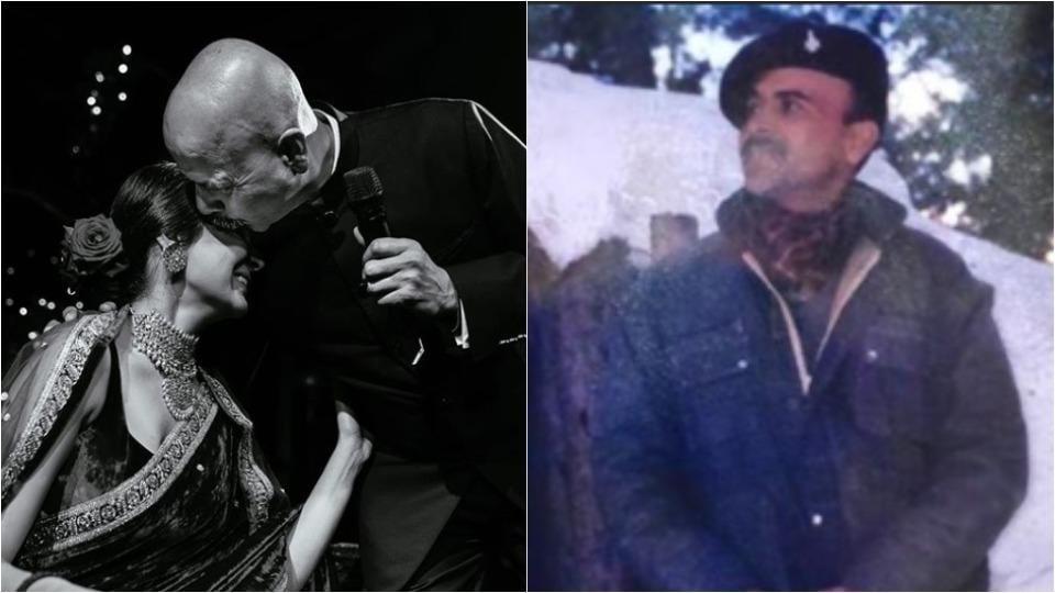 Anushka Sharma's father in an ex-army man.